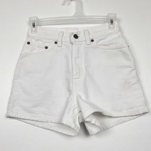 Levi's Vintage 512 slim fit high waisted shorts